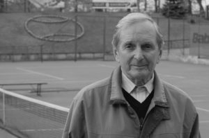Tennis maestro Edgars Ernestsons is leaving forever