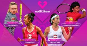 Anastasija Sevastova nominated for Fed Cup Heart award