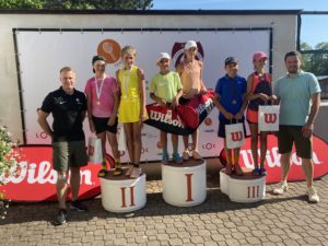 With the triumph of local Marija Lauva the tennis tournament summer season in Liepaja has begun