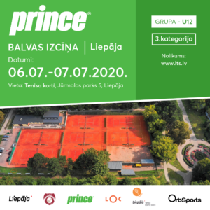 In Liepaja will take place Prince Prix in tennis