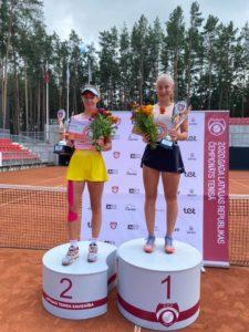 Our Patrīcija Špaka wins Latvian champions title