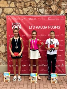 Our Marija Lauva finishes 3rd in Riga