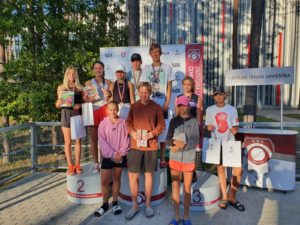 Few medals in Latvian Youth championship